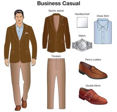 c6bee1e0 ... de un solo color; zapatos cerrados o o sandalias semi-abiertas; botas  (sólo en otoño- invierno y únicamente con pantalón); accesorios discretos  (máximo ...